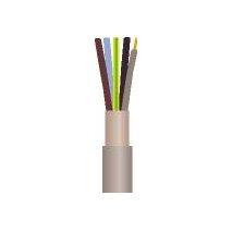 Kabler, ledninger, kabelbindere, clips og tape